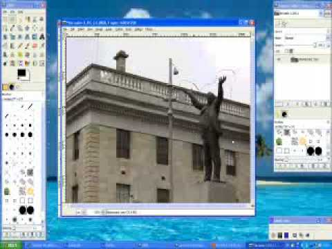 Gimp Tutorial: Eraser to Transparent Background Removal
