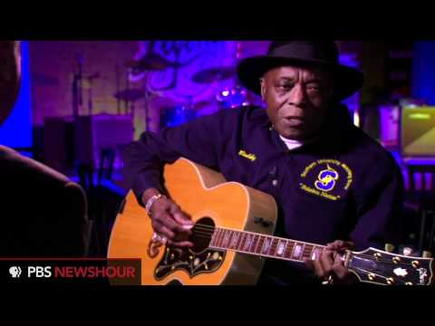 Buddy Guy Plays His Guitar for the NewsHour