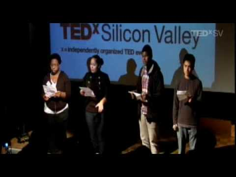 TEDxSiliconValley - Youth Speaks - 12/12/09