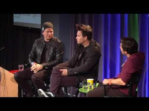 Mark Hoppus & Tom DeLonge in Conversation with Google+