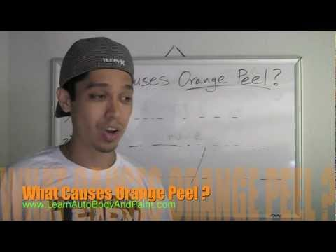 What Causes Orange Peel? - How To Fix or Prevent Orange Peel Paint