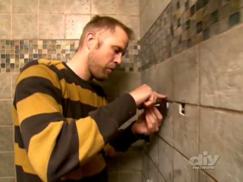 Decorative Glass Bath Tile-DIY