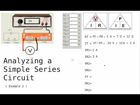 Series Circuit Analysis part 2