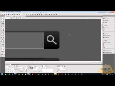 1. Style Custom HTML Form Fields Tutorial Graphics Process Fireworks CS5
