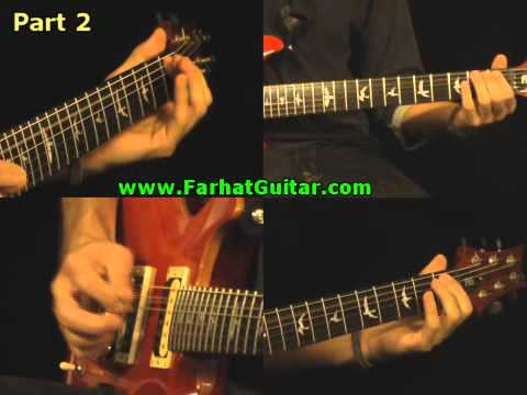 In the Flesh - Pink Floyd Part 2 Guitar Cover   www.farhatguitar.com