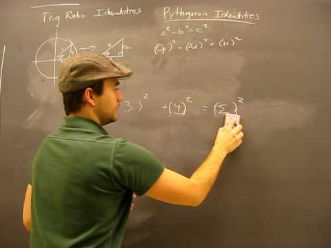 Pythagorean Identity Proof Pt1: Trigonometry Math Help