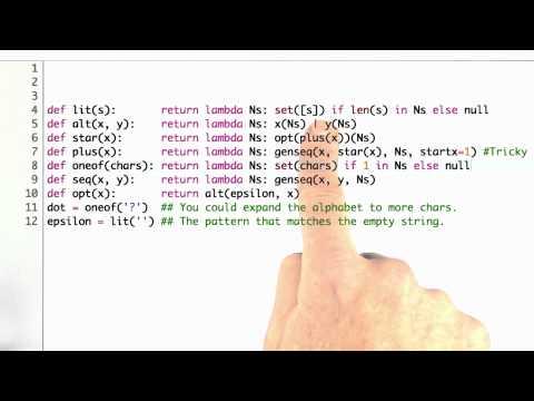 Avoiding repetition - CS212 Unit 3 - Udacity