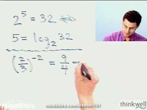 College Algebra: Exponential to Log Functions