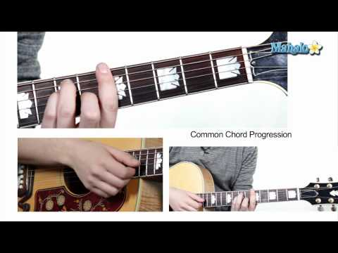 How to Play Common Chord Progression 1 4 5 on Guitar