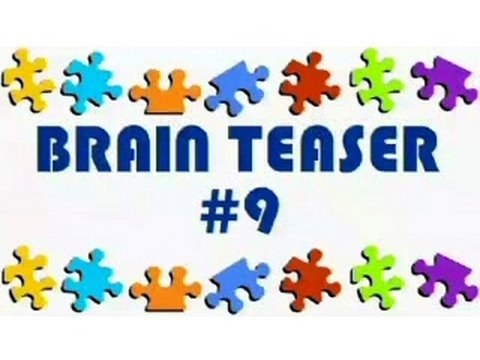 Video Brain Teaser #9