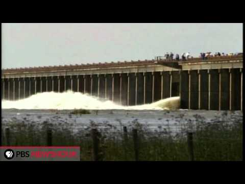 Morganza Spillway is Opened