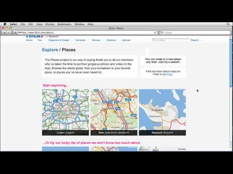 Flickr tutorial: How to search for photos by location | lynda.com