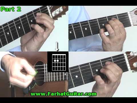 This boy  -The Beatles Part 2 guitar lesson www.FarhatGuitar.com