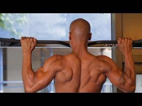 How to Do a Basic Pull Up | Home Back Workout for Men