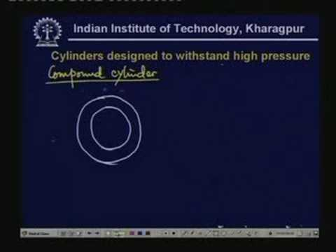 Lecture - 38 Design of Cylinders & Pressure Vessels - III