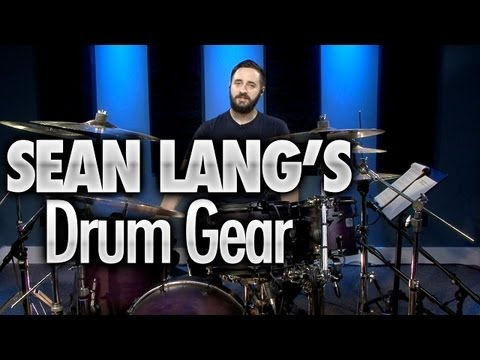 Sean Lang's Drum Gear