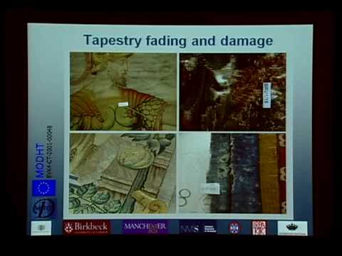 Monitoring of Damage in Historic Tapestries