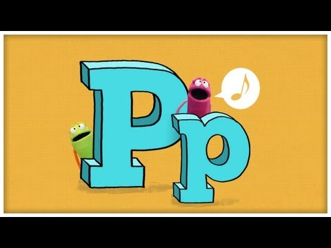 ABC Song - Letter P - The Letter P by StoryBots