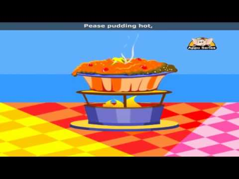 Pease Pudding with Lyrics - Nursery Rhyme