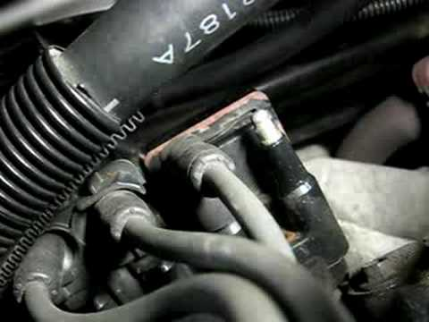 Tune-Up  Spark Plug Wire Removal
