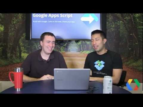 App Scripts Office Hours - August 30, 2012
