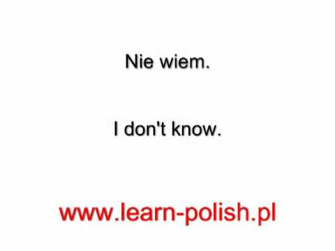 "How to say: ""Where is the hospital"" in Polish?"
