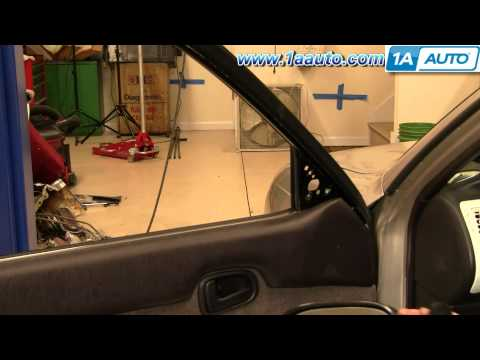 How To Install Replace Side Rear View Mirror Toyota Corolla 93-97 1AAuto.com