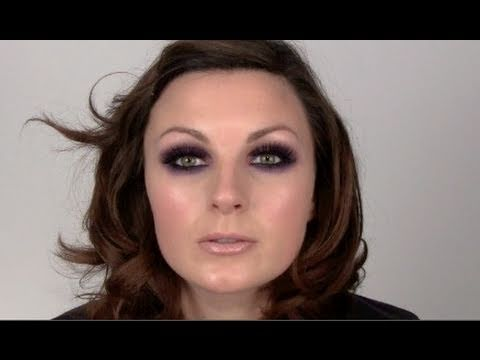 Purple Smoky eyeshadow. Great for green/hazel/brown eyes.