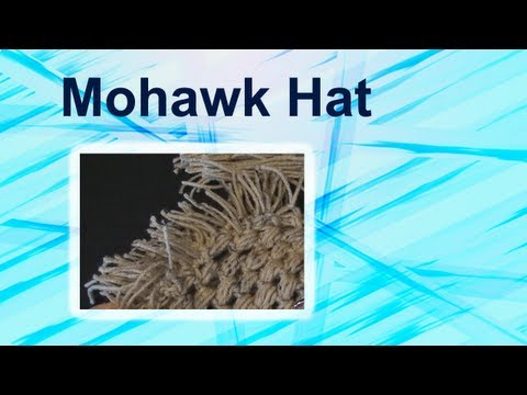 Art of Crochet by Teresa - How to make a Crochet Mohawk Hat