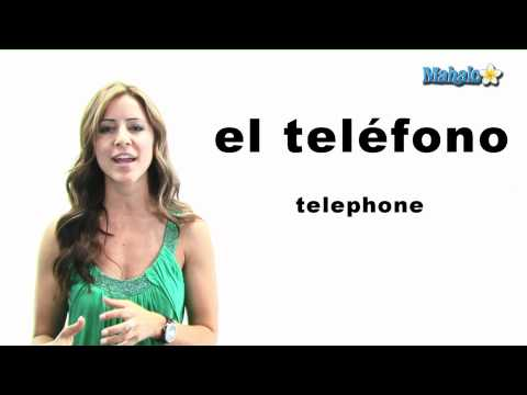 "How to Say ""Telephone"" in Spanish"
