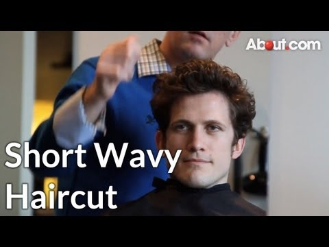 How to Get a Short Wavy Haircut for Men
