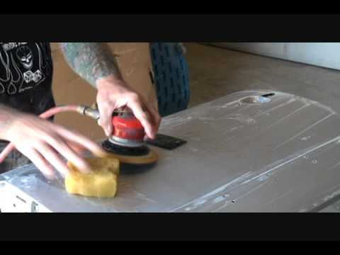HOW TO: Color Sand And Buff-Custom Car Painting-Part 3