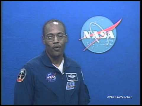 Astronaut Alvin Drew Thanks Teachers
