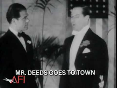 Frank Capra Receives Three Best Director Oscars
