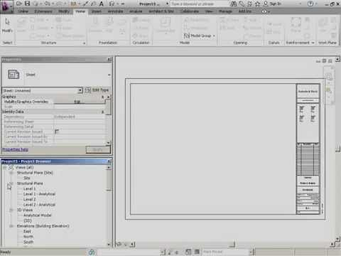 InfiniteSkills Tutorial | Revit Structure 2012 Training - Project Browser