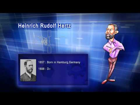 Top 100 Greatest Scientist in History For Kids(Preschool) - HEINRICH RUDOLF HERTZ