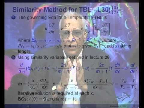 Mod-01 Lec-30 Prediction of Turbulent Heat Transfer