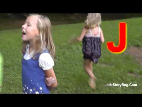 Preschool Activity - J is for Jumping Jacks - Littlestorybug