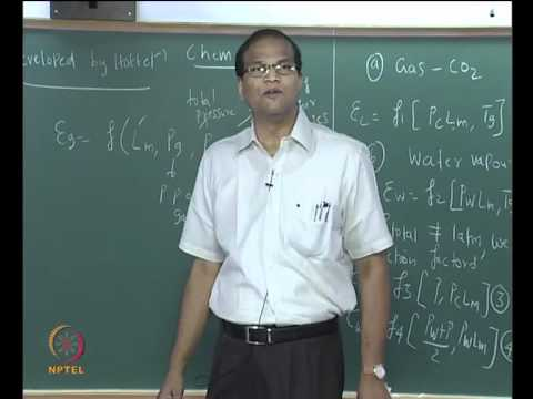 Mod-01 Lec-31 Emissivities and absorptivities of Gas mixtures