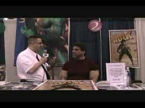 Geek Squad at New York Comic Con - Lou Ferrigno
