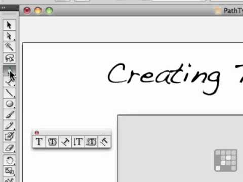 Create Type on a Path - Adobe Illustrator CS5 Tutorial