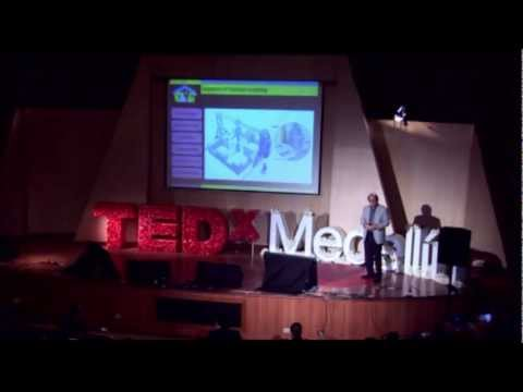 TEDxMedellin - Behrokh Khoshnevis - Robotic Construction by Contour Crafting