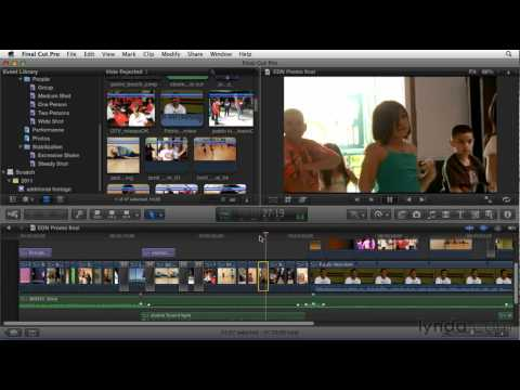 Exploring the Final Cut Pro interface | lynda.com overview