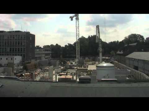 Construction progress, Oct 2011 - Darcy