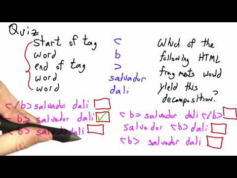 Taking Html Apart Solution - CS262 Unit 2 - Udacity