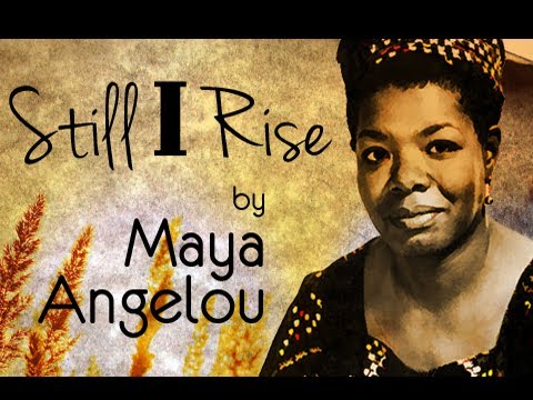 Pearls Of Wisdom - Still I Rise by Maya Angelou - Poetry Reading