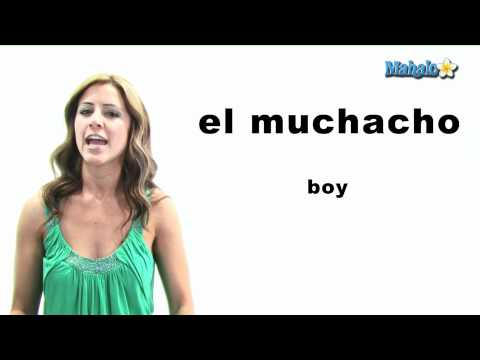 "How to Say ""Boy"" in Spanish"