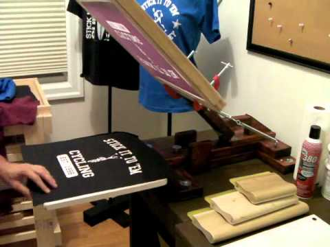 HOMEMADE Screen Printing Flash Conveyor Dryer Part 2