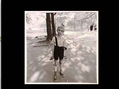 Arbus, Boy with a Toy Grenade, 1962