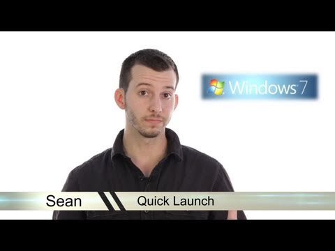Learn Windows 7 - Quick Launch
